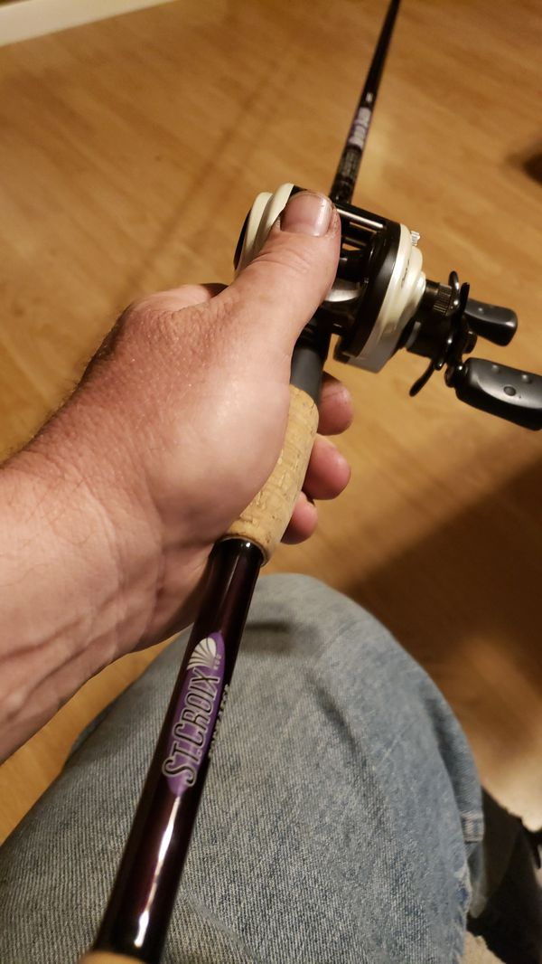 St criox and abu revo fishing rod