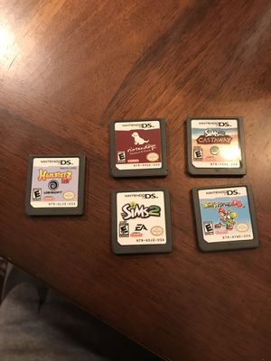 DS GAME BUNDLE!!! for Sale in Fairfax Station, VA