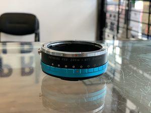 Fotodiox Pro Adapter De-Clicked Aperture Iris Canon EOS EF Lens to M43 MFT BMPCC for Sale in Oakland Park, FL