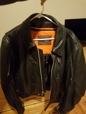 First manufacturing leather motorcycle jacket L for Sale in Portland, OR