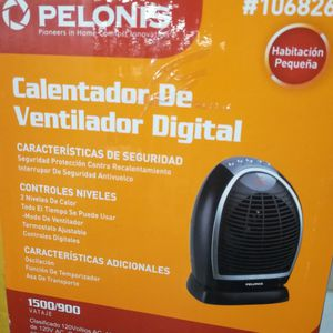 Pelonis Digital heater for Sale in Buffalo, NY