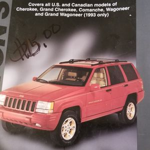 jeep grand Cherokee Haynes motor Manuel 1984 -1996 15$ firm great condition no issue s for Sale in Milford, CT
