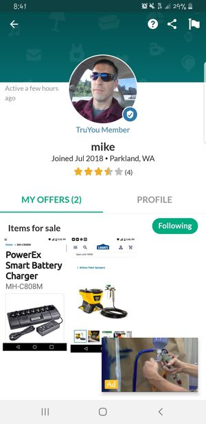 Scam - Beware this person is selling damage items for Sale in Olympia, WA