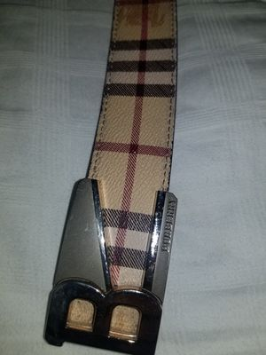 Burberry london designer belt for Sale in Aurora, CO