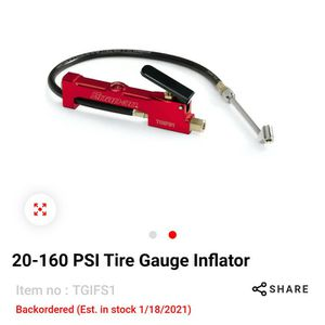Snap-on Tire Inflator/ Air Pressure Gauge for Sale in Lake Worth, FL