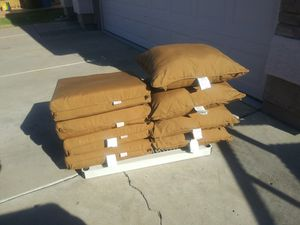 Cushions in good condition measurements are 24 by 24. for Sale in Phoenix, AZ