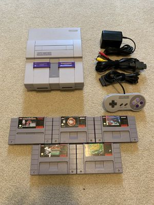 Super Nintendo Bundle with NBA Jam for Sale in Parma, OH