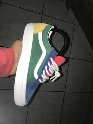 Yacht club vans size 4.5 for Sale in Sacramento, CA