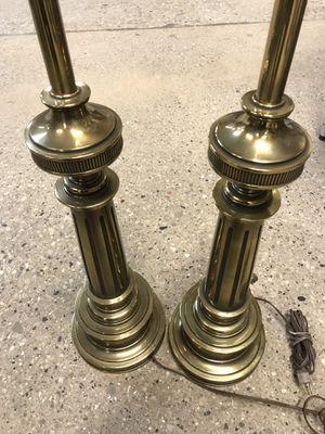 STIFFEL HEAVY BRASS LAMP VINTAGE ANTIQUE LEVINGTON for Sale in Chicago, IL