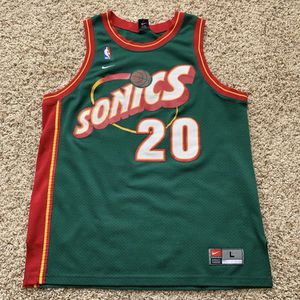 Vintage Nike Seattle SuperSonics NBA Jersey for Sale in Pasco, WA