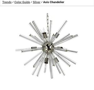 Z Gallerie Axis Modern Chandelier (New) for Sale in Boca Raton, FL