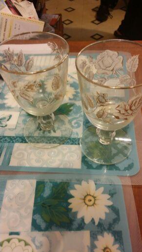 Antique glasses set of 6 for Sale in Hillsborough, NC