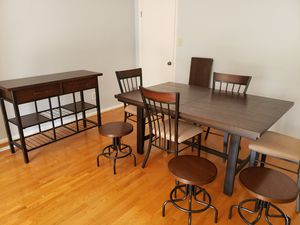Dining set and buffet for Sale in Virginia Beach, VA