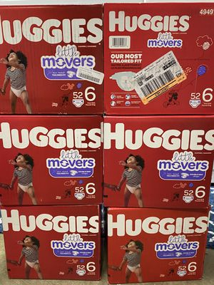 Huggies Lil Movers Size 6 for Sale in San Jose, CA