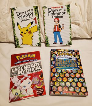 Pokemon books for Sale in San Antonio, TX