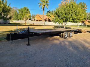 Tandem axle dual 18K trailer for Sale in Gilbert, AZ