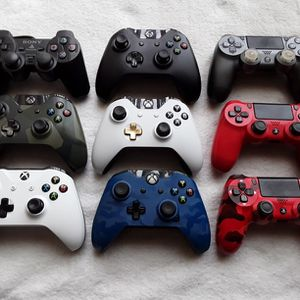 Xbox PS4 PS2 Controllers for Sale in Chandler, AZ