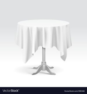 """‼️FREE ‼️ 70"""" Round Tablecloth - Food Network for Sale in Forest View, IL"""