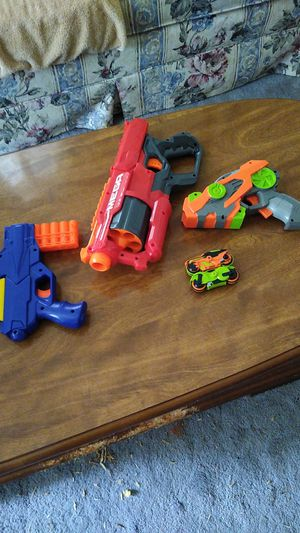 Nerf guns and motorcycle launching gun for Sale in Chattanooga, TN