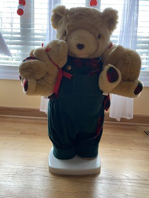 Christmas Teddy bear for Sale in Elk Grove Village, IL