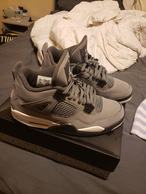 Jordan 4s size 10 cool grey for Sale in Pasadena, TX