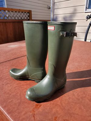 Hunter Tall Rainboots - size 12 men, 13 women for Sale in Puyallup, WA