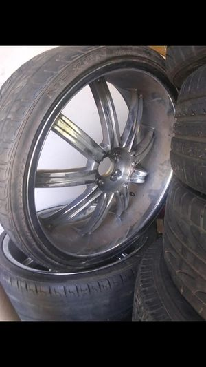 24 INCH WHEELS for Sale in Houston, TX