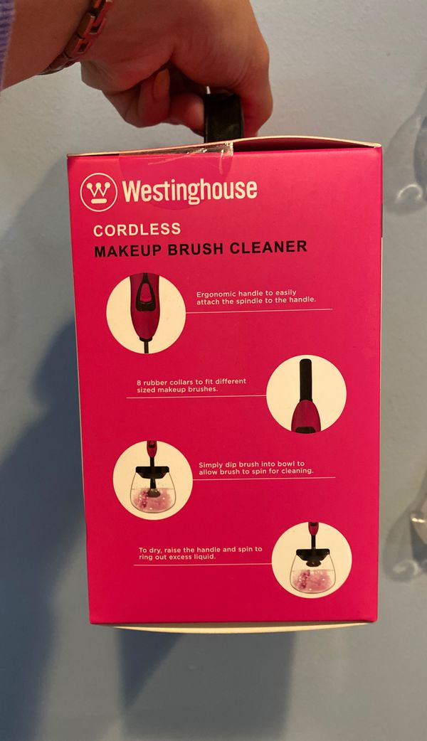 Cordless Makeup Brush Cleaner