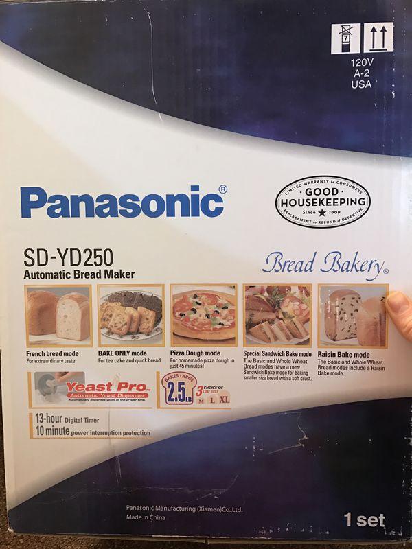Panasonic Bread Maker