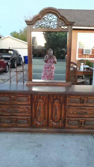 Antique wood furniture for Sale in Fontana, CA