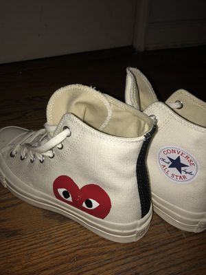 Comme des Garçons converse for Sale in Bronx, NY