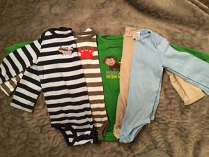 5 BOYS Rompers,Bodysuits ,long sleeves !!! for Sale in Los Angeles, CA