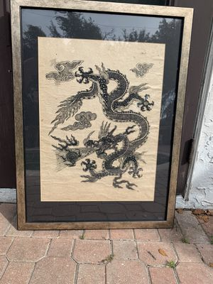 Old dragon drawing for Sale in Port Charlotte, FL