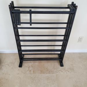Wood Dvds Or Shoe Rack for Sale in West Palm Beach, FL