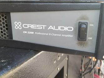 Crest Amplifier CM2208 8channel for Sale in Miami,  FL