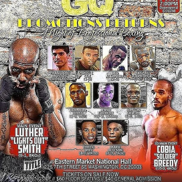 Professional Boxing In Dc