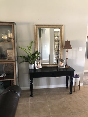 Black Entry Table for Sale in Bakersfield, CA