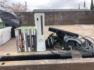 Xbox 360 with games for Sale in Hesperia, CA