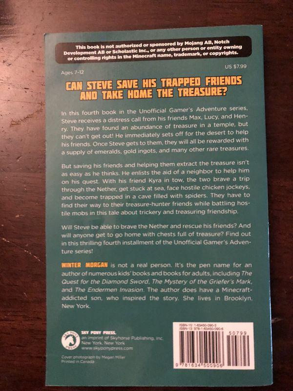 Minecraft Books winter Morgan all 6 books for Sale in Austin, TX - OfferUp