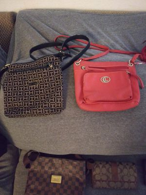 Designer pursues & wallets & all leather duffle bag for Sale in Los Angeles, CA