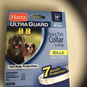 Hartz Flea Collar Medicine Dogs Large for Sale in Fairless Hills, PA