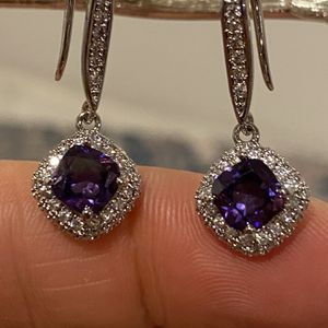Stylish Purpule Stoned Earrings for Sale in San Jose, CA