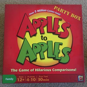 Board Game: Apples to Apples for Sale in Garden Grove, CA