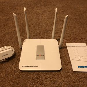 WiFi Router (Wise Tiger AC 1200M) for Sale in Maricopa, AZ