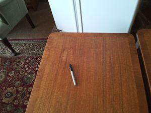 Vintage Hardwood Matching End Tables for Sale in Salt Lake City, UT