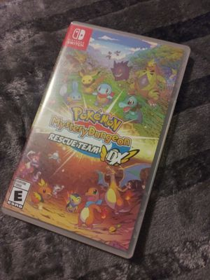 Pokemon Mystery Dungeon Rescue Team DX Nintendo Switch for Sale in Los Angeles, CA