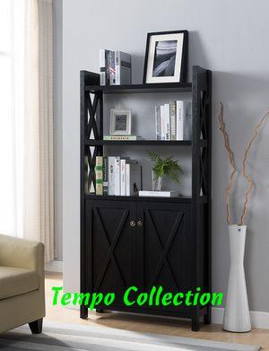 NEW, Stylish Bookcase, Black, SKU# 171912 for Sale in Garden Grove, CA