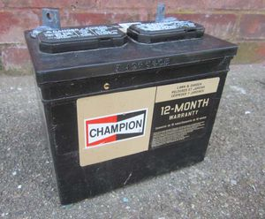 Champion Lawn Tractor Battery for Sale in Warwick, RI