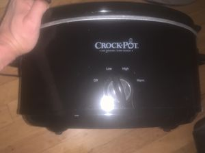 "Excellent Crock Pot, ""the original slow cooker"" priced to sell!! for Sale in San Francisco, CA"