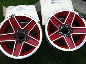 Chevy rims, 15 inch, 5 hole, 114.3 cm for Sale in Metamora, IL